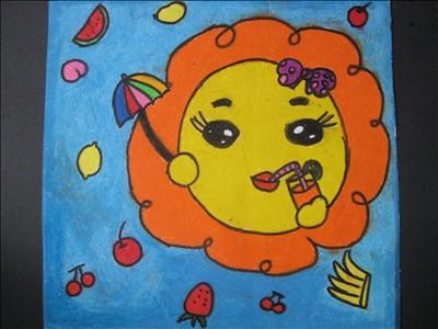 学生美术作品展——砂纸画